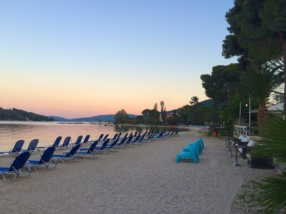 Nidri Lefkada beach