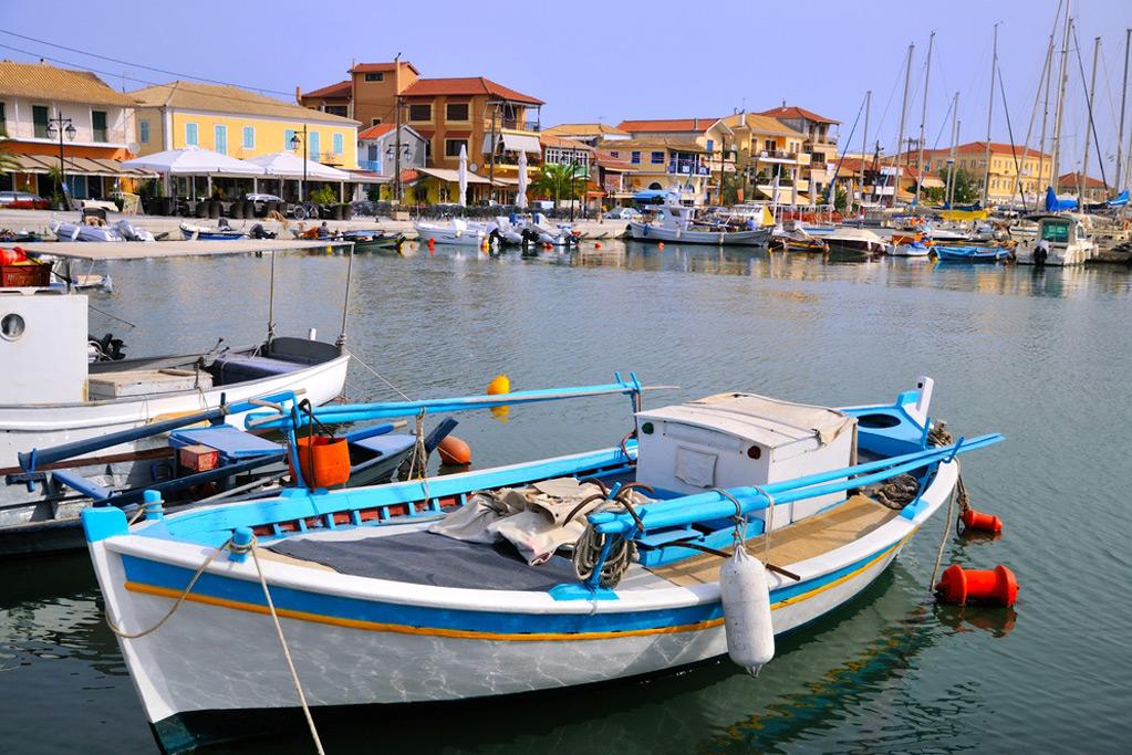 Villa Gabriella Lefkada luxury Ionian villa rental overlooking Nidri Greece