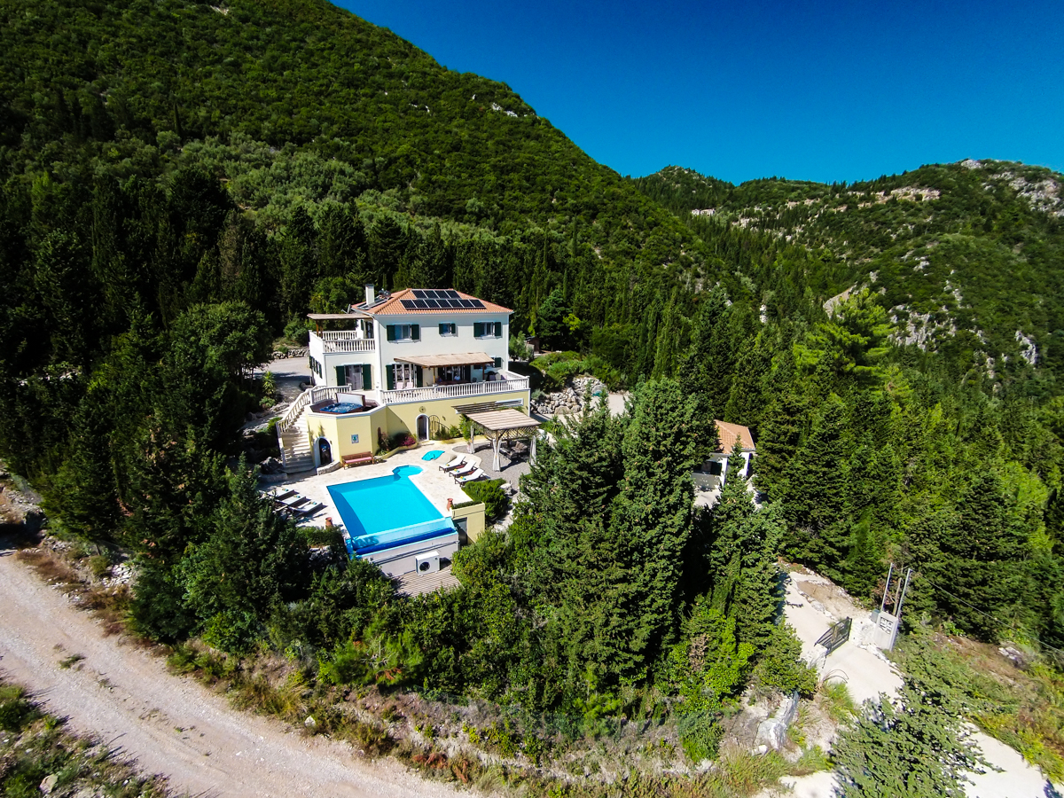 large Ionian private villa