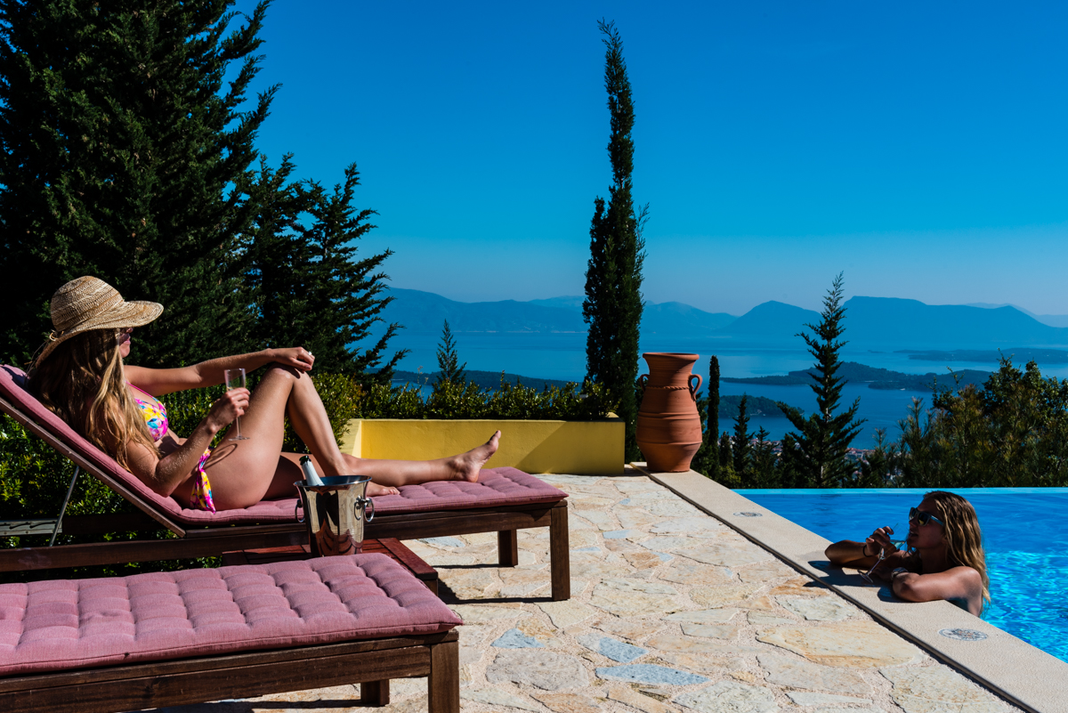 Exclusive Ionian seaview retreat