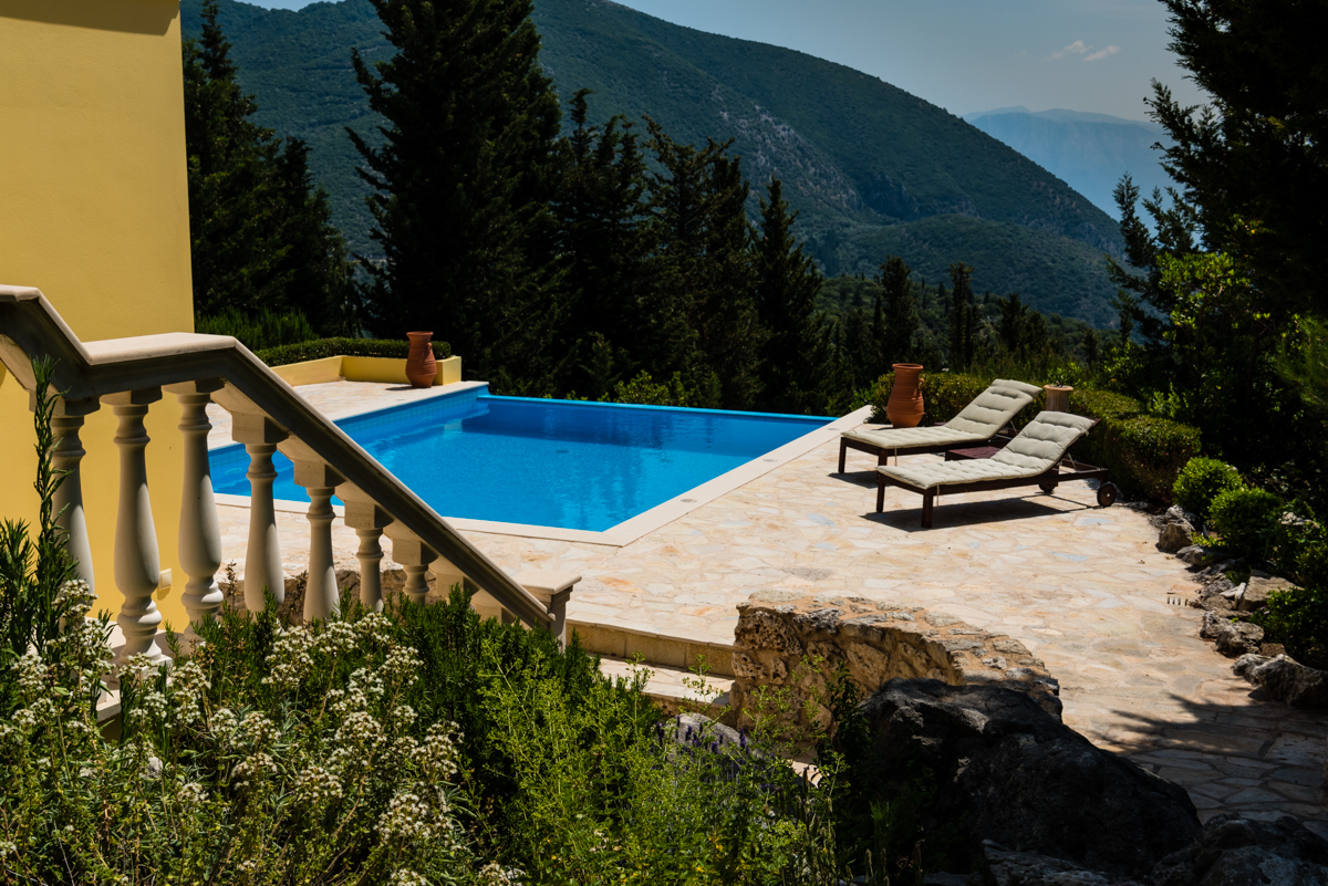 Large ionian seaview retreat