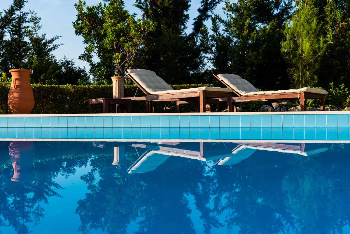 private honeymoon retreat on Lefkada