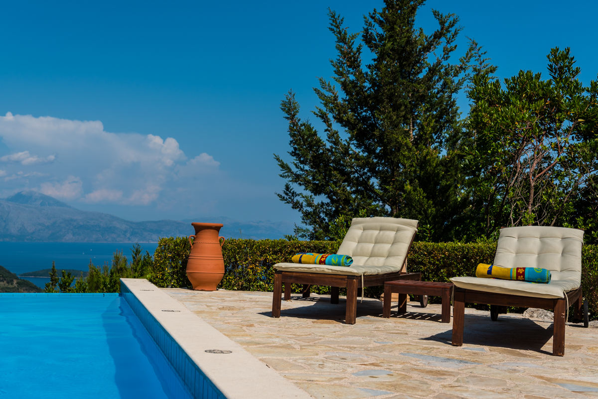 Exclusive Ionian seaview villa