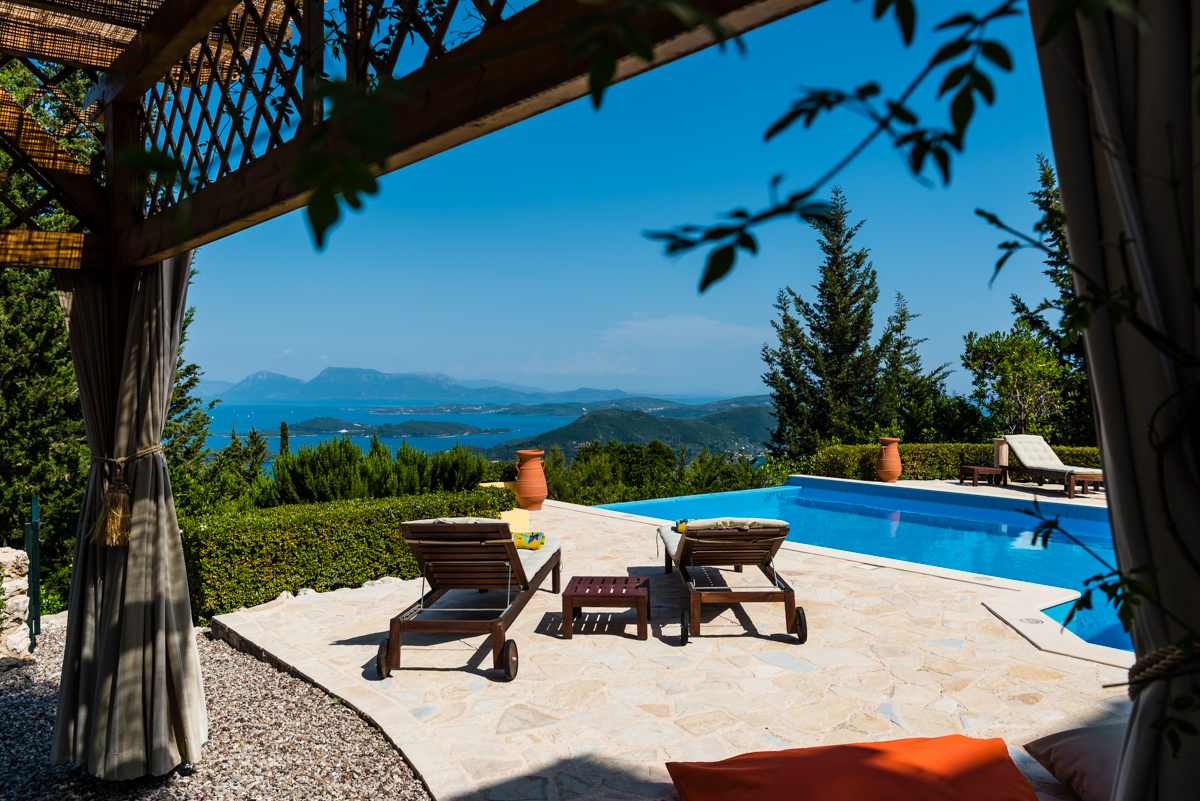 Luxury Ionian seaview retreat