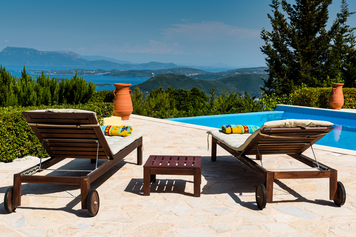 luxury honeymoon retreat on Lefkada