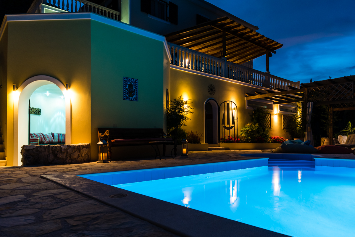 Exclusive family villa on Lefkada