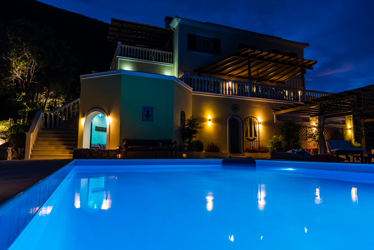 luxury honeymoon villa on Lefkada