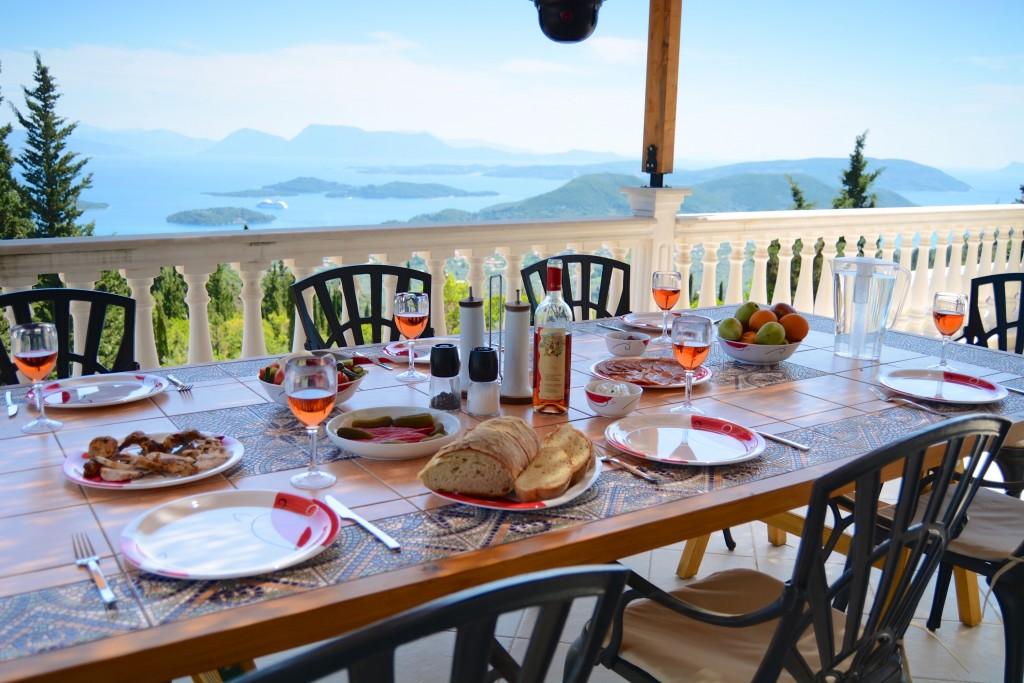 Spacious villa on Lefkada
