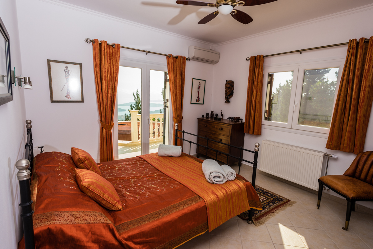Luxury Ionian seaview villa
