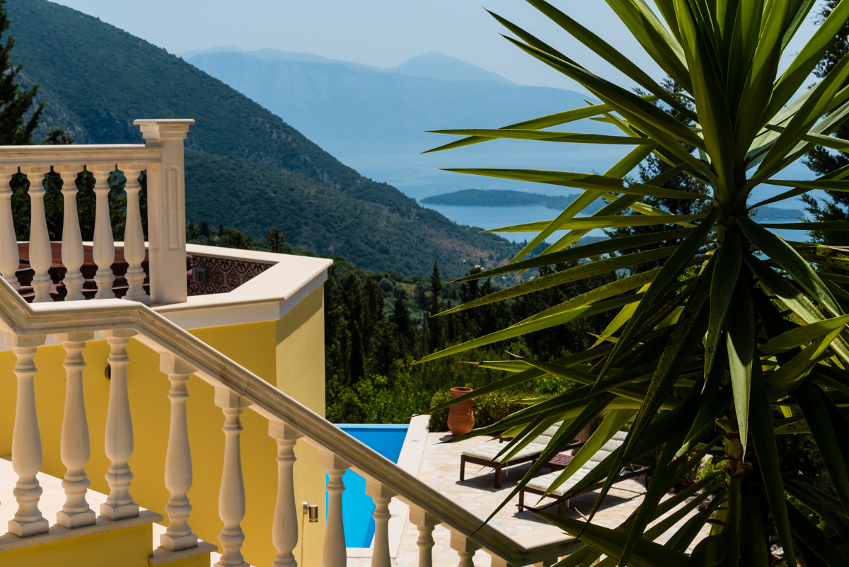 Luxury family vacation on Lefkada