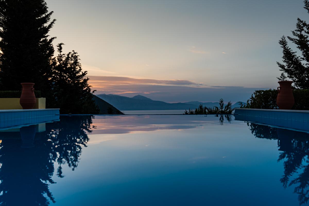 large luxury villa on Lefkada