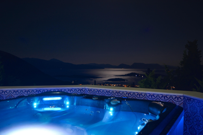 luxury honeymoon villa on Lefkada