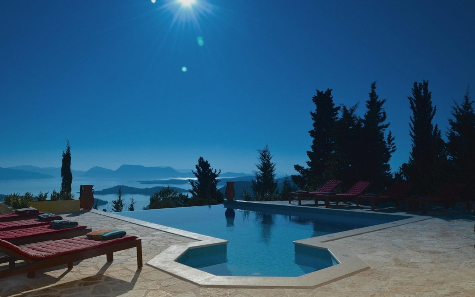 Luxury villa rental in the Ionian