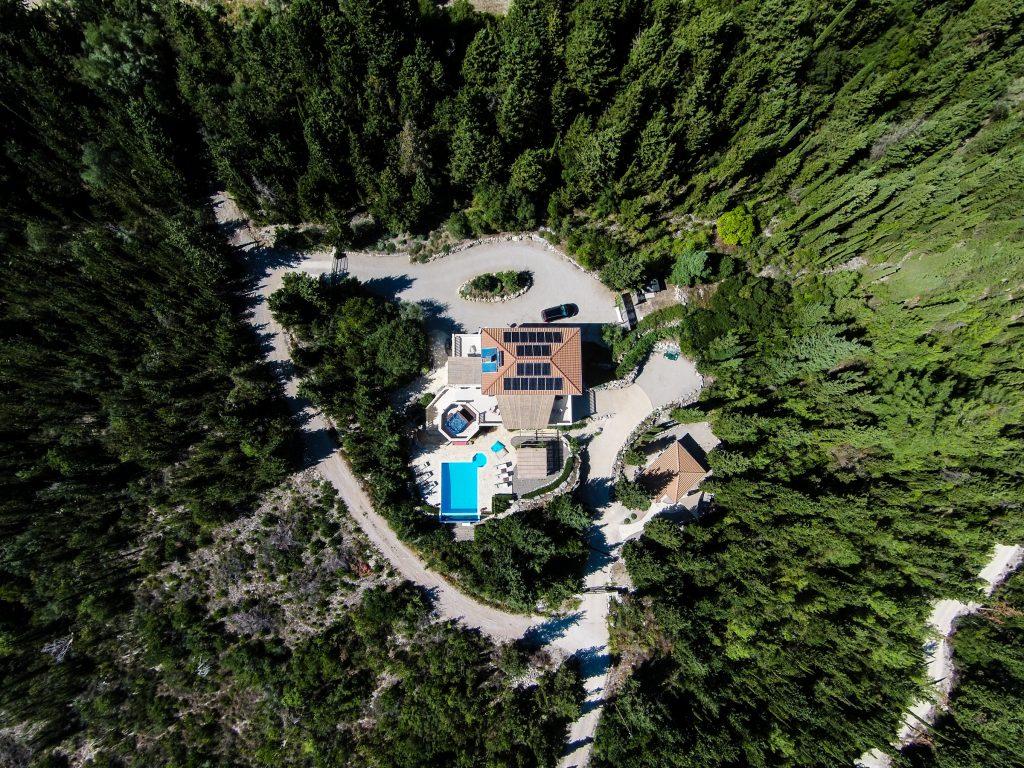 private Ionian seaview villa