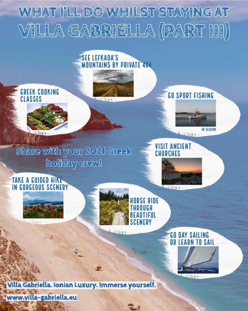 Secluded Greek villas